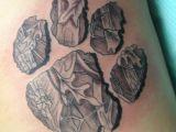 Tattoo Draw Up Your Idea Camo Dog Print Love the Idea Inkkkkkkk Bear Paw Tattoos