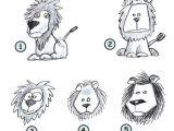 Teacher Drawing Easy Drawing A Cartoon Lion School Stuff In 2019 Cartoon Lion
