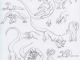 The Best Drawings Of Dragons Dragon Poses 2 by Triinuarjus Drawing Guides In 2019 Dragon