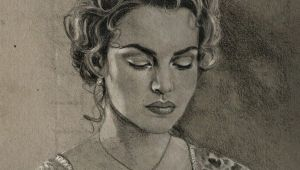 The Real Drawing Of Rose From Titanic Rose by Barbaramj On Deviantart Art Titanic Celebrityart