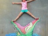 Things to Draw with Chalk Easy You Won T Believe What This Dad Can Do with Sidewalk Chalk