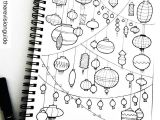 Things to Draw with Markers Easy Lantern Doodles Art Doodles and Drawing Doodle Drawings