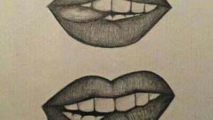 Tongue Drawing Easy I Bit My tongue Bit tongue Lipbalmhomemade Bit
