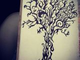 Trees that are Easy to Draw Tribal Design Tree Drawing with Sharpie Sharpie Tattoos