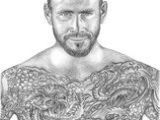 Triple H Drawing 61 Best Drawings Images Color Pencil Drawings Graphite Drawings
