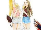 Tumblr Drawing Best Friends 69 Best Best Friends forever Images Best Friend Drawings