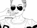 Tumblr Drawing Girl Adidas Pin by A Aliyah C On Girls Black White Tumblr Girl Drawing