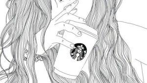 Tumblr Drawing Starbucks Starbucks Sketches Drawings Tumblr Outline Tumblr Drawings