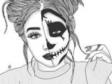Tumblr Drawing to the Bone 195 Best Outlines 3 Images Girl Drawings Drawings Tumblr Drawings
