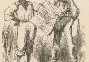 Ulysses S Grant Cartoon Drawing Cartoons American Abraham Lincoln Stockfotos Cartoons American