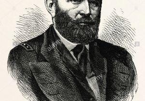 Ulysses S Grant Cartoon Drawing Ulysses S Gewahren Stockfotos Ulysses S Gewahren Bilder Alamy