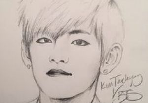 V Drawing Bts Easy 11 Best Drawings Images Easy Drawings Draw How to Draw
