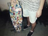 Vans Drawing Tumblr Longboard Girl Tumblr