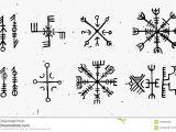 Viking Patterns Easy to Draw Futhark norse islandic and Viking Runes Set Magic Hand Draw