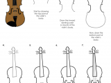 Violin Drawing Flowers Printable Activity for Kids How to Draw A Violin the Bird Feed Nyc