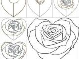 W to Draw A Rose 11 Best Learning to Draw Images Learn to Draw Drawing Techniques