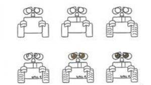 Wall-e Drawing Easy A Oe C E E A Aooc A C E E µ A A Oe C E E A Aooa Eµ A Ao C Ae A C Draw