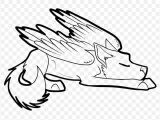 Wolf Drawing Easy Anime Winged Cat Drawing at Getdrawings Com Free for Personal Winged