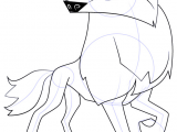 Wolf Drawing Easy Face Learn How to Draw Arctic Wolf From Animal Jam Animal Jam Step by