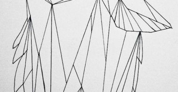 Wolf Drawing Geometric Geometric Wolf by Koolio1715 On Art Drawings Geometric Wolf Art