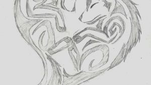 Wolf Drawing Heart Wolf Heart Wolf Tribal Heart by Wolfhappy On Deviantart Tatoo