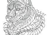 Wolf Drawing Lines Fresh Black and White Wolf Coloring Pages Nicho Me