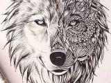 Wolf Drawing Mandala Pin by Joy Henke On Copic Markers Wolf Tattoos Tattoos Geometric