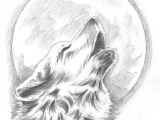 Wolf Drawing On Black Paper Howling Wolf Tattoo Change the Moon to Our Dream Catcher Behind the