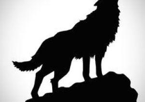 Wolf Drawing Silhouette Die 101 Besten Bilder Von Wolf Silhouette Wolf Silhouette Wolves