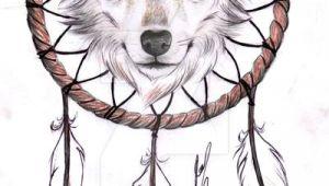 Wolf Drawing with Dream Catcher Wolf Dreamcatcher Ii Tattoo Design by Rozthompsonart Deviantart Com