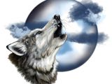 Wolf Howling Drawing Easy Step by Step Howling Wolf Head Howling Wolf Wolf Moon Tattoo Wolf
