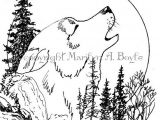Wolf Howling Drawing Easy Step by Step Pin On Drawings
