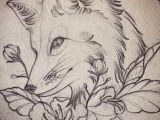 Wolf Neo Trad Drawing 76 Best Fox Sketches Images Fox Tattoos Art Drawings Drawing S