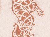 Wolf Viking Drawing Knotwork Wolf by Darazan Tattoo Love Wolf Tattoos Tattoos Wolf
