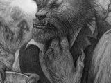 Wolfman Drawing the Wolfman by Rick Baker Werewolf Werewolf Werewolf Art