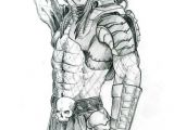 Xenomorph Drawing Easy Predator by Me In Pencil 2005 Predator Alien In 2019 Predator