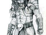 Xenomorph Drawing Easy Predator My Pencil Drawing 2006 Predatora In 2019 Predator
