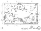 Y Plan Drawing Anticipando El Futuro La Casa De Peter Y Alison Smithson P10