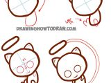 Yak Drawing Easy How to Draw Cute Baby Chibi Mew From Pokemon Easy Step by
