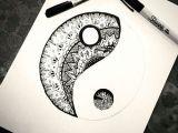 Yin Yang Drawing Ideas Yin Yang Sharpie Art Amazing Art Cool Drawings