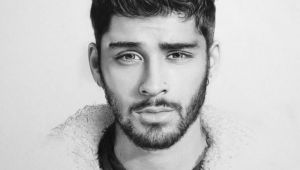 Zayn Drawing Tumblr Pencil Drawing Pencil Drawings Zayn Zayn Malik Drawings