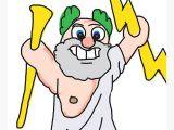 Zeus Cartoon Drawing Easy Zeus