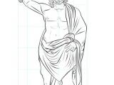 Zeus Easy Drawing Wie Zeichnet Man Den Griechischen Gott Zeus Zeichnen