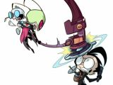 Zim Cartoon Drawing How Do I Anything I Am Zim Invader Zim Invader Zim Characters
